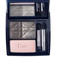 Тени для век 3-цветные компактные Christian Dior - 3 Couleurs Smoky №051 Smoky Pink - 5.5 g