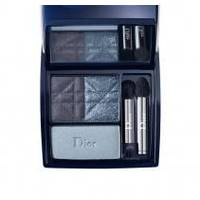 Тени для век 3-цветные компактные Christian Dior - 3 Couleurs Smoky №291 Smoky Navy - 5.5 g