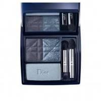 Тени для век 3-цветные компактные Christian Dior - 3 Couleurs Smoky №291 Smoky Navy - 5.5 g