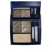 Тени для век 3-цветные компактные Christian Dior - 3 Couleurs Smoky №481 Smoky Khaki - 5.5 g