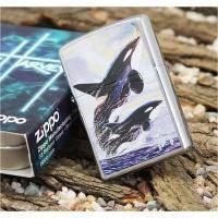 Зажигалка Zippo - Killer Whales (24305)