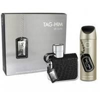 Sterling Tag-Him - Подарочный набор (туалетная вода 100 ml + дезодорант спрей 200 ml)