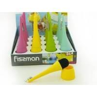Fissman - Ершик для мытья посуды в подставке 20x6 см (арт. PR-7426.BR)