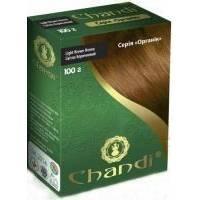 Chandi - Краска для волос. Серия органик. Светло Коричневый - 100 г