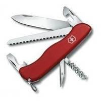 Складной нож Victorinox - Rucksack - 111 мм, 12 функций нейлон красный (0.8863)