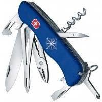 Складной нож Victorinox - Skipper - 111 мм, 17 функций нейлон голубой (0.9093.2W)