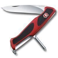 Складной нож Victorinox - Delemont RangerGrip 53 - 130 мм, 5 функций красно-черный (0.9623.С)