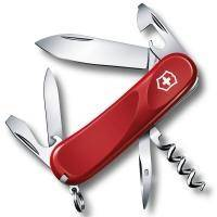 Складной нож Victorinox - Delemont Evolution 10 - 85 мм, 13 функций красный (2.3803.E)