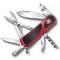 Складной нож Victorinox - Delemont EvoGrip 14 - 85 мм, 14 функций красно-черный (2.3903.C)