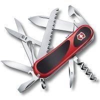 Складной нож Victorinox - Delemont EvoGrip S17 - 85 мм, 15 функций красно-черный (2.3913.SC)