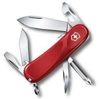 Складной нож Victorinox - Delemont Evolution S111  - 85 мм, 12 функций красный (2.4603.SE)