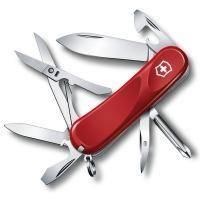 Складной нож Victorinox - Delemont Evolution 16 - 85 мм, 14 функций красный (2.4903.E)