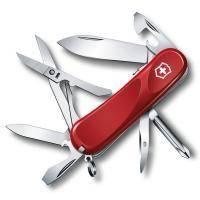 Складной нож Victorinox - Delemont Evolution S16 - 85 мм, 14 функций красный (2.4903.SE)