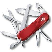 Складной нож Victorinox - Delemont Evolution 18 - 85 мм, 15 функций красный (2.4913.E)