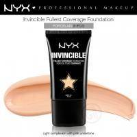 NYX - Тональная основа Invincible Fullest Coverage Foundation Porcelain INF03 - 25 ml
