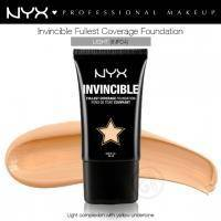 NYX - Тональная основа Invincible Fullest Coverage Foundation Light INF04 - 25 ml
