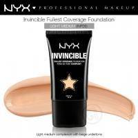 NYX - Тональная основа Invincible Fullest Coverage Foundation Light Medium INF05 - 25 ml