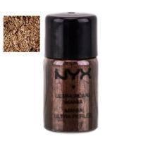 NYX - Рассыпчатые тени-пигменты Loose Pearl Eye Shadow Walnut темный коричнево-золотистый пигмент LP23 - 5 ml