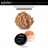 NYX - Минеральная финишная пудра для лица Nyx Mineral Finishing Powder Medium / Dark MFP02 - 8 g