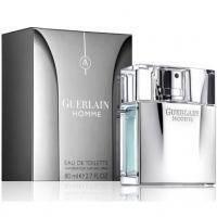 Guerlain Homme -  Набор (туалетная вода 80 + гель для душа 75 + косметичка)