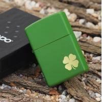 Зажигалка Zippo - Shamrock Green Matte (21032)