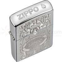 Зажигалка Zippo - Gleaming Patina High Polish Chrome Classic An American Classic (24751)