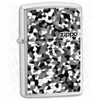 Зажигалка Zippo - Mosaic Brushed Chrome (24807)