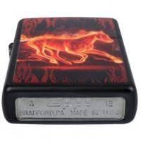 Зажигалка Zippo - Flaming Horse (28304)