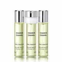 Chanel Chance Eau Fraiche - туалетная вода - 3x20 ml Refill (запаски)