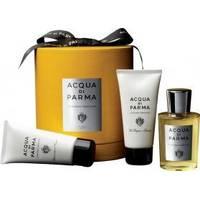 Acqua Di Parma Colonia Assoluta - Набор (одеколон 100m ml + гель для душа 75 ml + бальзам после бритья 75 ml)