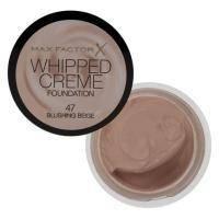 Крем-мусс тональный для лица с матирующим эффектом Max Factor - Whipped Creme Foundation №47 Blushing Beige - 18 ml