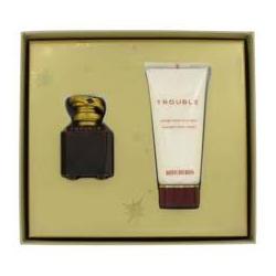 Boucheron Trouble - Набор (парфюмированная вода 5 + лосьон-молочко для тела - 50) в бархате
