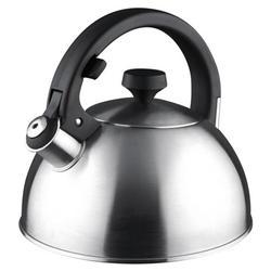 Vinzer -  Чайник LUXOR - нержавеющая сталь, 2,6 л, свисток (арт. 89005)