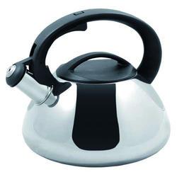 Vinzer -  Чайник SFERA - нержавеющая сталь, 2,6 л, свисток (арт. 89013)