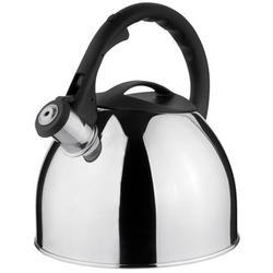 Vinzer -  Чайник GENEVA - нержавеющая сталь, 2,6 л, свисток (арт. 69015)