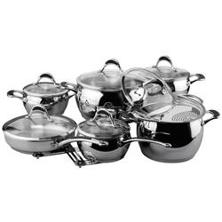 Vinzer -  Набор посуды STELLA - 14 предметов, термоаккумулирующее дно (арт. 89020)