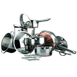 Vinzer -  Набор посуды MAJESTY - 13 предметов, медное термоаккумулирующее дно (арт. 69027)