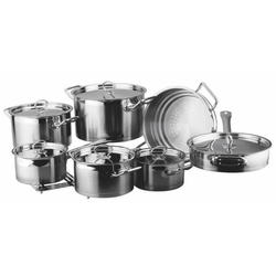 Vinzer -  Набор посуды UNIVERSUM PRO - 14 предметов, 4-х слойное термоаккумулирующее дно (арт. 89033)
