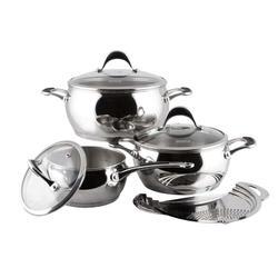 Vinzer -  Набор посуды ASTRO - 7 предметов, термоаккумулирующее дно, стеклянная крышка (арт. 89038)