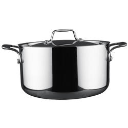 Vinzer -  Кастрюля - нержавеющая сталь, диаметр 24см, 6,5л (арт. 89074)