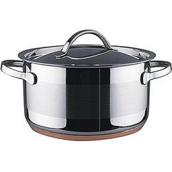 Vinzer -  Кастрюля - нержавеющая сталь, диаметр 16см, 1,8л, медное дно (арт. 69085)