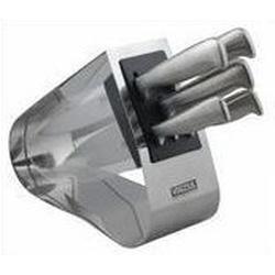 Vinzer -  Набор ножей Techno - 6 предметов, подставка из нержавеющей стали (арт. 89129)