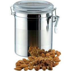 Vinzer -  Емкость для пищевых продуктов - 1,6 л, нержавеющая сталь, акрил, крышка (арт. 69201)