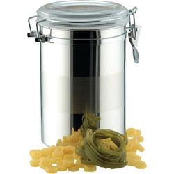 Vinzer -  Емкость для пищевых продуктов - 2,0 л, нержавеющая сталь, акрил, крышка (арт. 69202)