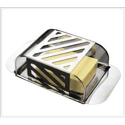 Vinzer -  Масленка - нержавеющая сталь, акриловая крышка (арт. 69241)