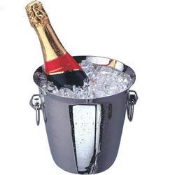 Vinzer -  Ведро для охлаждения шампанского - нержавеющая сталь (арт. 69252)