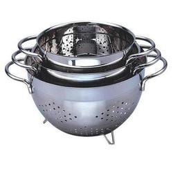 Vinzer -  Дуршлаг - нержавеющая сталь, диаметр 24,5см (арт. 69255)