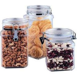 Vinzer -  Емкость для пищевых продуктов - акрил, герметическая крышка, объем - 1100мл (арт. 69259)