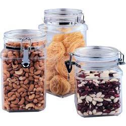 Vinzer -  Емкость для пищевых продуктов - акрил, герметическая крышка, объем - 1400мл (арт. 69260)