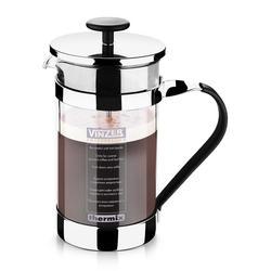 Vinzer - Кофейник / Заварник для чая - стекло Thermix, нержавеющая сталь, 1000 мл (арт. 89384)
